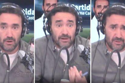 """Descomunal enfado de Juanma Castaño: """"Muchos de los que escriben en redes son auténticas ratas"""""""