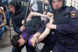 Rusia: detienen a la mujer del líder opositor y a centenares de manifestantes a favor de Alexei Navalny