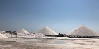 La compañía francesa, que compró las salinas de Torrevieja, se está forrando con la Borrasca Filomena