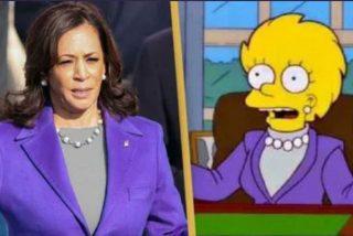 ¿Predijeron también 'Los Simpson' que Kamala Harris se convertiría en vicepresidenta de EEUU?