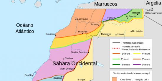 El Frente Polisario intenta sacar pecho lanzando 4 inocuos misiles contra la zona controlada por Marruecos