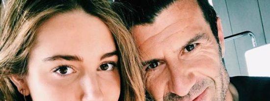 """Luis Figo podrá entrar a la Familia Real al emparentar a su hija """"médico"""" con un primo de Felipe VI"""