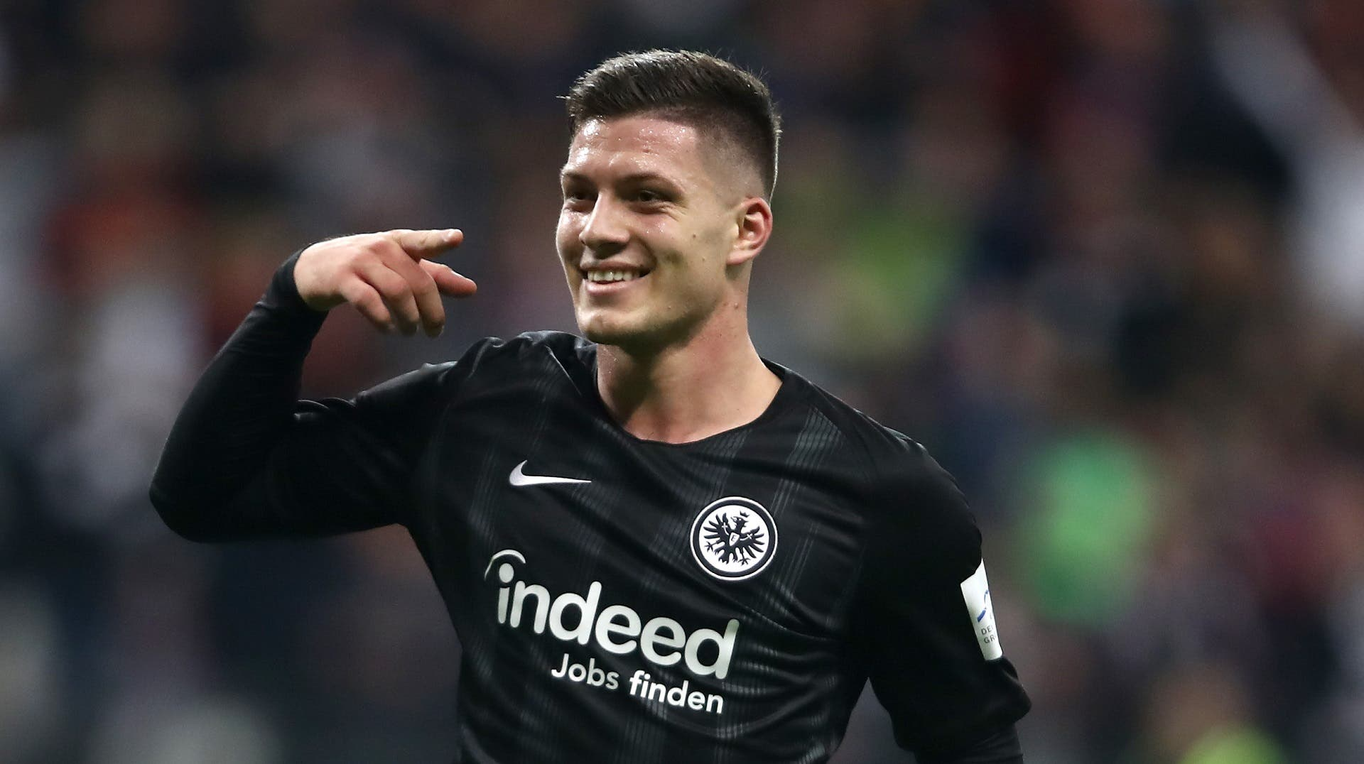 Jovic marca otro gol y ya lleva más en la Bundesliga que en año y medio con el Real Madrid