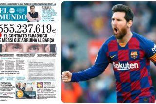 El gol por toda la escuadra que Messi le coló al Barcelona: un contrato de más de 555 millones en cuatro años