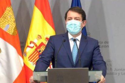 Mañueco solicita comparecer en las Cortes de Castilla y León para informar sobre la situación de la Covid-19 en la tercera ola