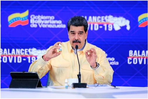 """El dictador Maduro insiste en su ridículo: presentará un estudio de sus """"gotas milagrosas"""" contra el COVID"""