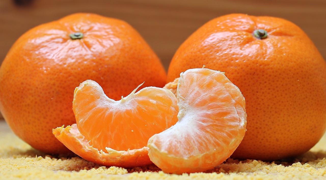 gajos de mandarinas