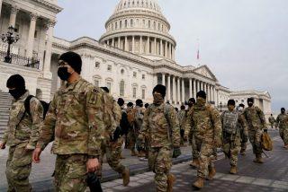 Trump declara el estado de emergencia en Washington para garantizar la seguridad durante la toma de posesión de Biden
