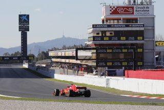 El Circuito de Barcelona estrena su nueva curva 10