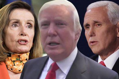 Los demócratas dan un ultimátum a Pence: inhabilita a Trump en 24 horas o inician el 'impeachment'