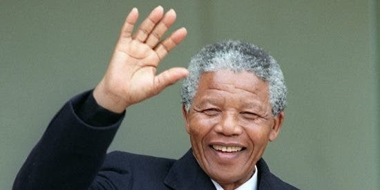 La liberación de Nelson Mandela