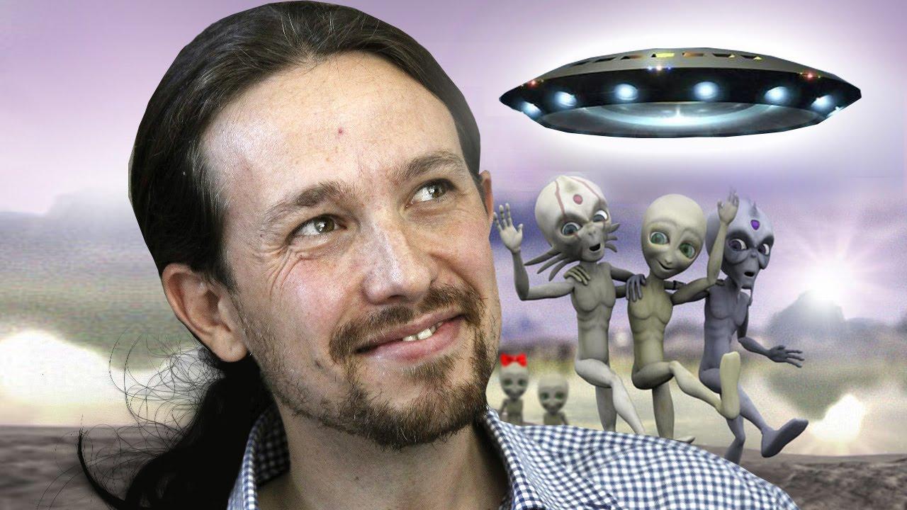 Todo lo que se le ocurre a Pablo Iglesias, con España inmersa en la Tercera Ola, es hacer bromas sobre marcianos
