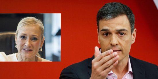 ¿Por qué empapelan a Cifuentes y Sánchez, el de la tesis plagiada y el doctorado fake, se va de rositas?
