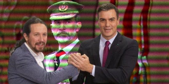 """El verdadero objetivo de la 'ley de la Corona' que prepara Sánchez: convertir a Felipe VI en """"un zascandil genuflexo"""""""