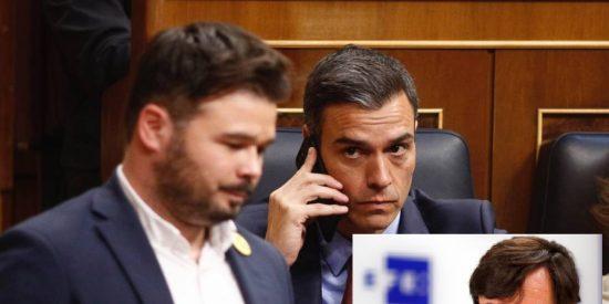 """El socialista Sánchez acusa a sus socios de ERC de buscar """"trucos"""" para retrasar las catalanas"""