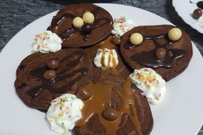 Receta: tortitas de chocolate a la americana