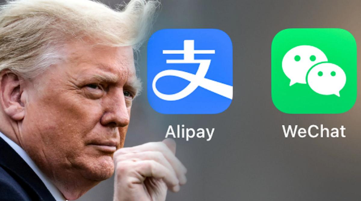 Donald Trump prohibe las transacciones con Alipay, WeChat Pay y otras apps chinas