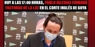 Que Pablo Iglesias enseñe la factura de la luz de su chalet en Galapagar