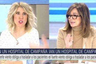 """Ana Rosa se harta de las críticas al Zendal y manda callar a Verónica Fumanal: """"¡Me parece alucinante!"""""""
