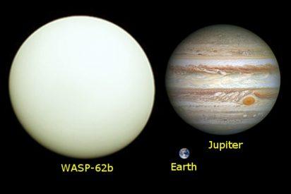 Hallan un planeta 'hermano' mayor de Júpiter, pero totalmente limpio de nubes