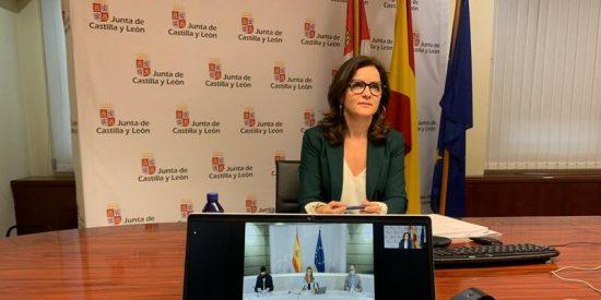 La consejera de Empleo e Industria de la JCyL no se fía de Sánchez y defiende un reparto justo de los fondos europeos