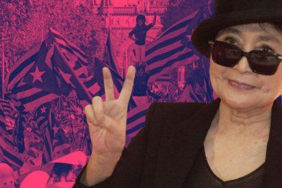 """La 'pandilla de cretinos' fichados por Òmnium: """"Si Yoko Ono rompió los Beatles, seguro que puede romper España"""""""