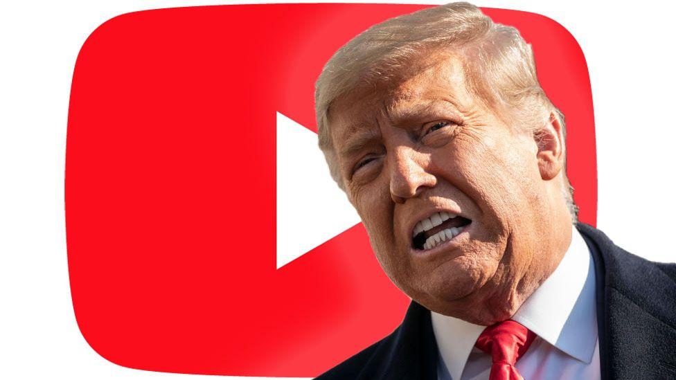 YouTube, que permite los videos de los terroristas islámicos, suspende el canal de Trump