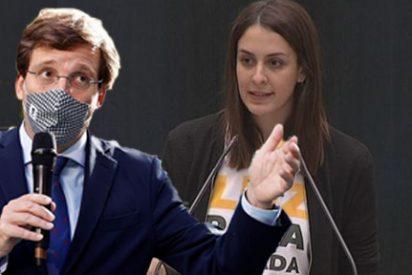 """Troleo a Más Madrid y Rita Maestre por la """"fuga"""" de sus cuatro ediles que apoyarán el Madrid Central de Almeida"""
