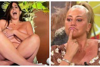 No se puede caer más bajo: Anabel Pantoja se desnuda en 'Sálvame' mientras que Belén Esteban la machaca