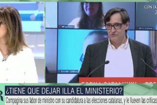 """Apoteósico regreso de Ana Rosa abofeteando a Illa: """"¡Es una anormalidad democrática!"""""""