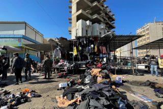 Atentado suicida en Bagdad: la explosión en un mercado deja más de 30 muertos y 110 heridos