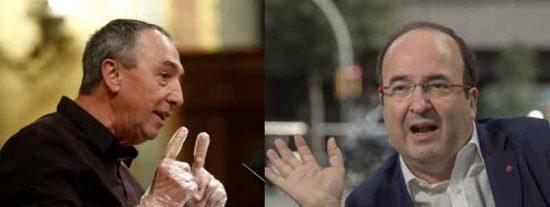 Twitter vapulea a Baldoví por exigir que se pronuncie 'a la catalana' el nombre de Miquel Iceta