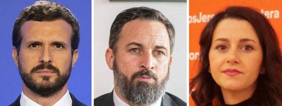 España Suma (PP, VOX y C's) arrasaría hoy en elecciones con mayorías más amplias que las de Aznar y Rajoy