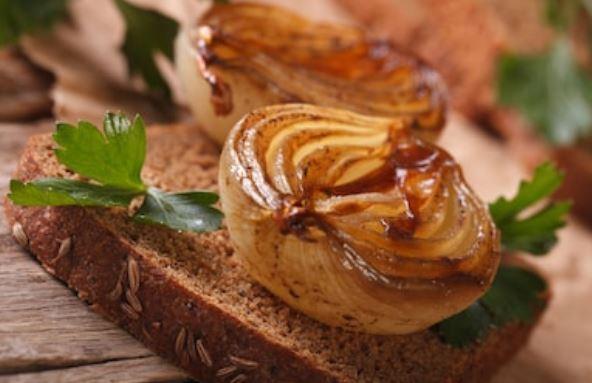 Cebolla caramelizada rápida: