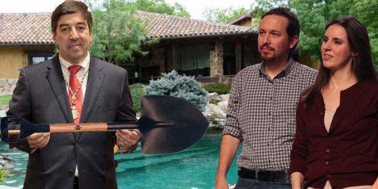 Privilegios del Marqués: El alcalde de Galapagar ordenó quitar con urgencia la nieve frente al chalet de Iglesias