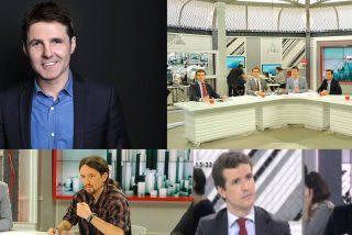 Así ha sido el 'violento asalto' a TVE de Pedro Sánchez e Iván Redondo gracias a Jesús Cintora