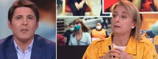Desagradable e incómodo: Cintora corta de muy malas formas a una tertuliana para acallar sus críticas a Sánchez