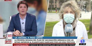 Pillada a Cintora: intenta colar como doctora ecuánime a una activista de mareas blancas lanzada contra Ayuso