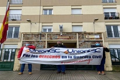 La UnionGC comienza el año en Ribadeo por los Derechos de los Guardias Civiles