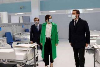 Muchas risas de la izquierda contra el Zendal y Díaz Ayuso pero ya es el hospital con más pacientes con Covid en Madrid