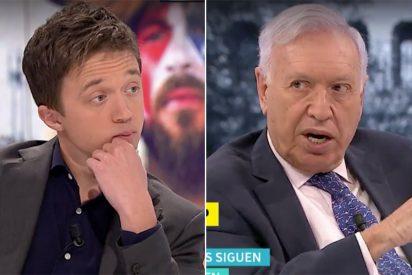 """El repaso sin precedentes de Margallo a Errejón: """"¿Pero a ti no te gusta Venezuela?"""""""