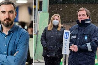 Los lectores se chotean de Escolar por lamentar que Almeida ha pasado a los madrileños el marrón de quitar la nieve