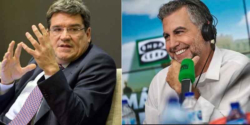 El quemado ministro José Luis Escrivá se cabrea de lo lindo con Carlos Alsina por el cómputo de las pensiones