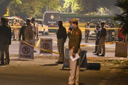 Una explosión sacude la embajada de Israel en Nueva Delhi