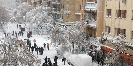 Filomena: La gran nevada que paralizó Madrid