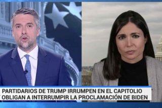 El País sale con una 'experta' afín a Podemos al rescate de TVE por su pifia con el asalto al Capitolio