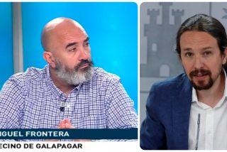 Mazazo judicial a Iglesias: el ciudadano que le llamó garrapata no cometió ningún delito