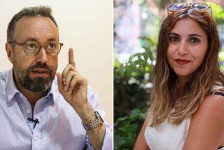 """Dina Bousselham llama """"fascistas"""" a Girauta y VOX y el exdiputado la machaca: """"Guarra"""""""