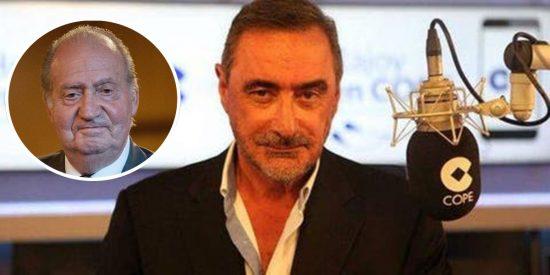 """Herrera, al ataque contra los enemigos del emérito: """"La dureza contra él es en realidad la que sienten por España"""""""