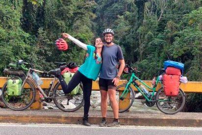 Honduras: Una pareja europea recorre el país en bicicleta